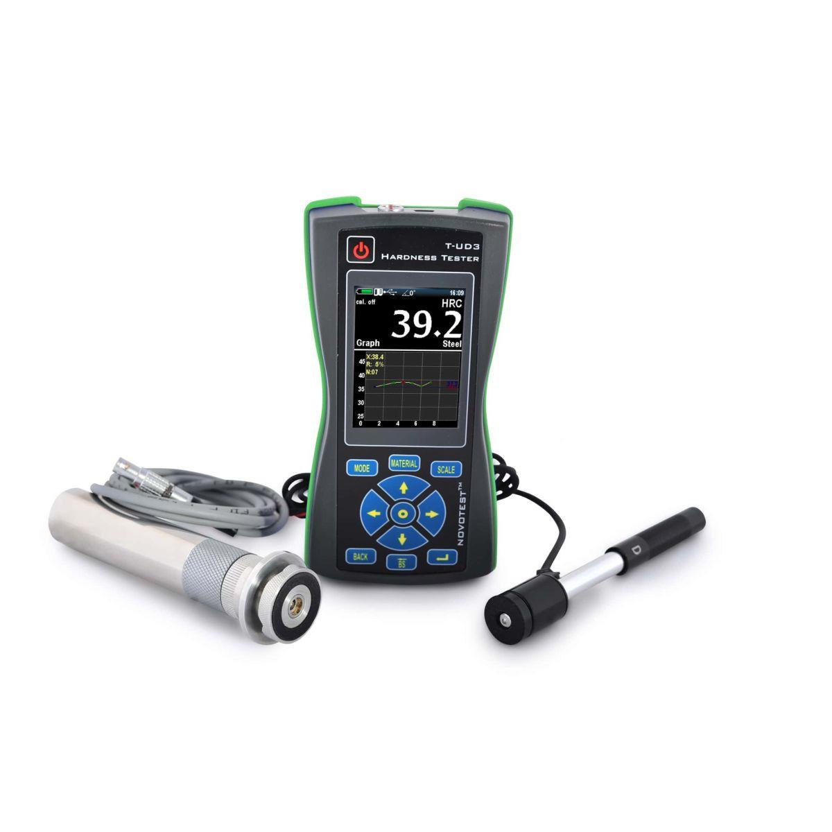 Σκληρόμετρο Υπερήχων & Αναπήδησης Novotest T-UD3
