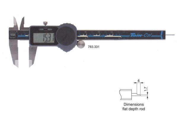 Ηλεκτρονικά παχύμετρα ΤΕSA TWIN-CAL