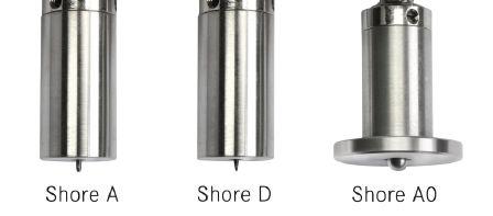 Σκληρόμετρο Πλαστικών Shore A Sauter HB