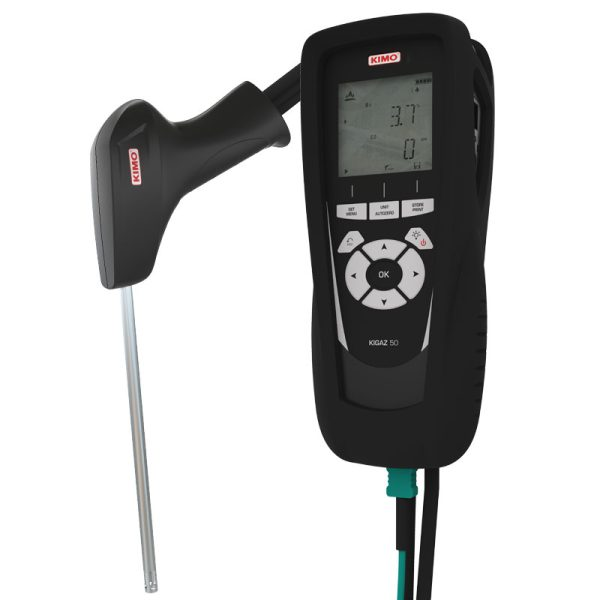 Αναλυτές Καυσαερίων για μέτρηση 02/CO KIGAZ80