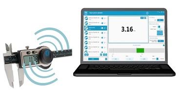 Bluetooth τεχνολογία + Μετρητικά Όργανα = Ευελιξία