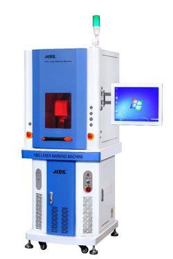 Τροχήλατη συσκευή για Laser χάραξη μετάλλων με θάλαμο προστασίας