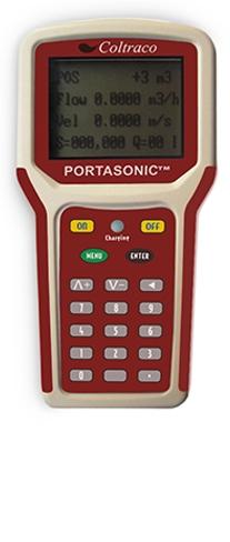 Συσκευή Μέτρησης Ροής Coltraco Portasonic