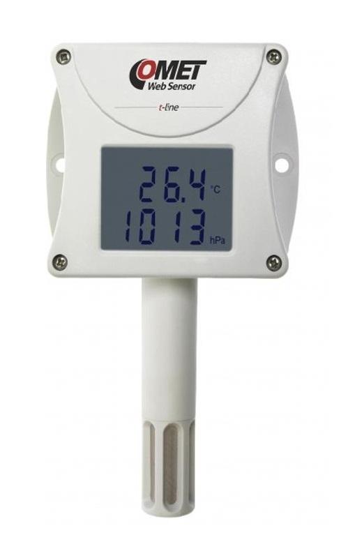 Kαταγραφικό Πίεσης Υγρασίας και Θερμοκρασίας T7510