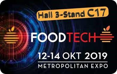Συμμετέχουμε στην έκθεση FoodTech2019